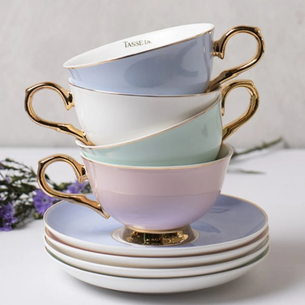 English Ecstasy Cup & Saucers