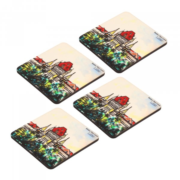 Bombay High Court In Colour Coasters