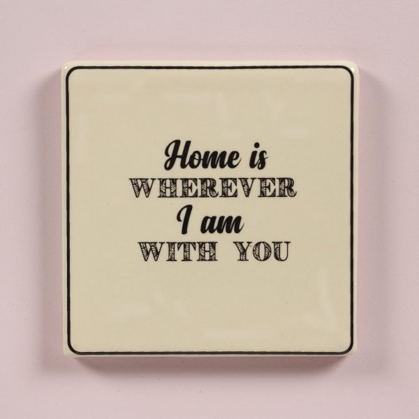 Love Is Home Coaster
