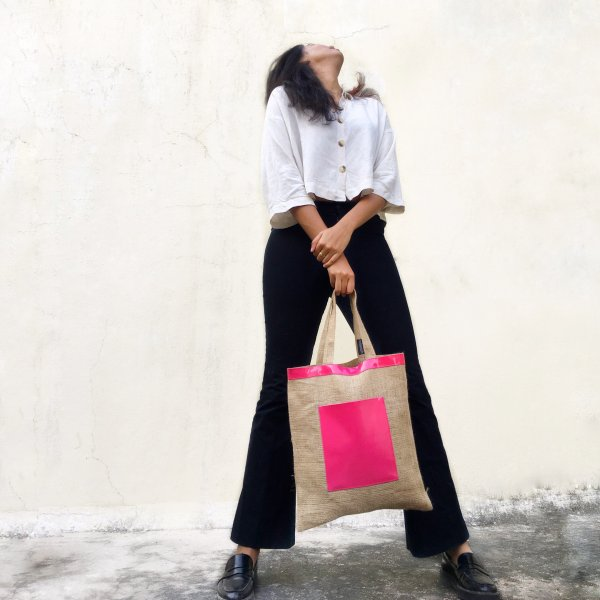 Stylish Handcrafted Jute Tote