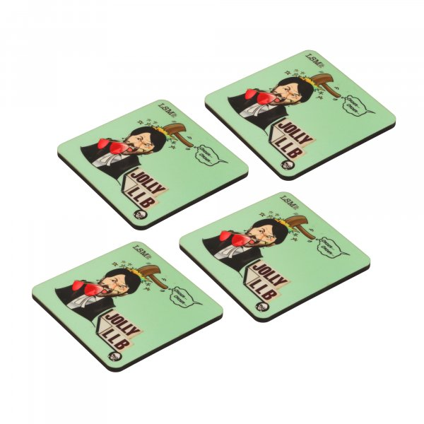 Jolly LLB Coasters