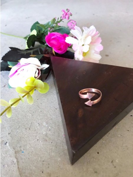 Arrow Ring-Rose Gold