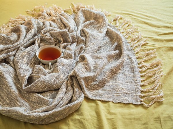Luxurious Lurex Throw