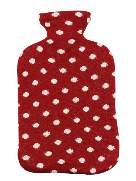 Dots All The Way Hot Water Bag Cover