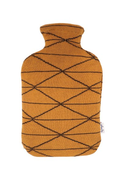 Criss Cross Hot Water Bag Cover