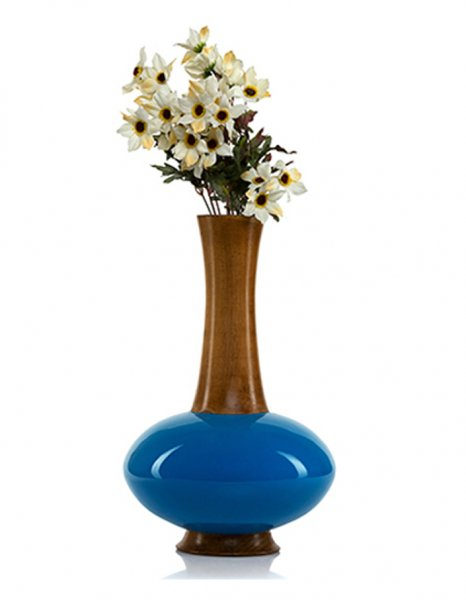 Blue Belly Vase