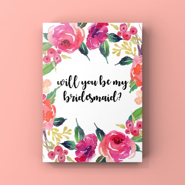 Bridesmaid Cards | Set of 8