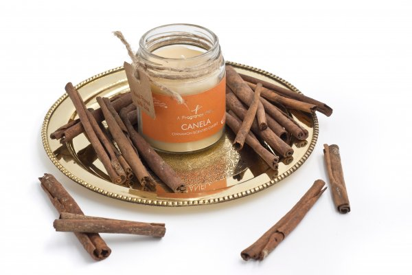 Canela Cinnamon Scented Candle
