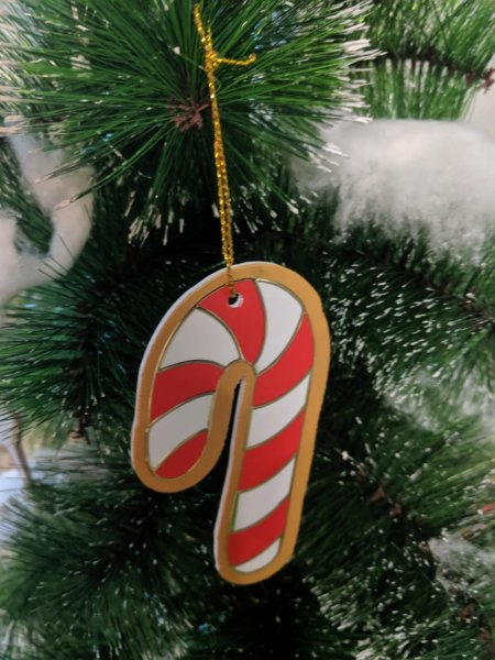 Candy Cane Tree Ornaments
