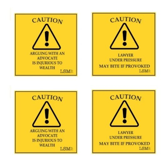 Caution Coasters