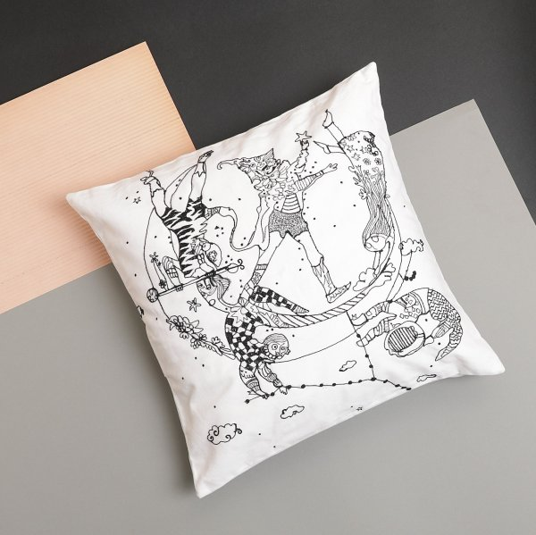Celestial Trapeze Cushion Cover