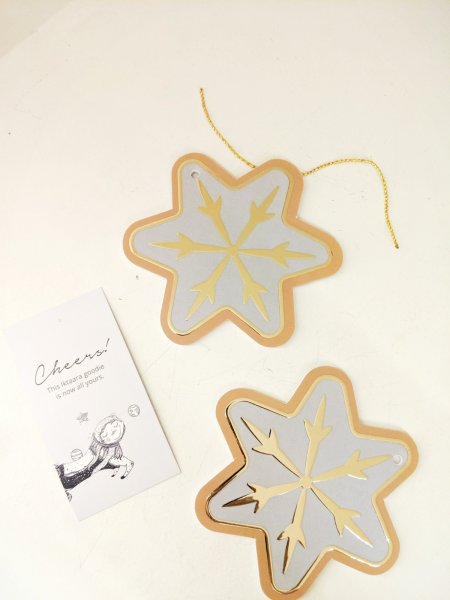 Christmas Forever Snowflakes Tree Ornaments