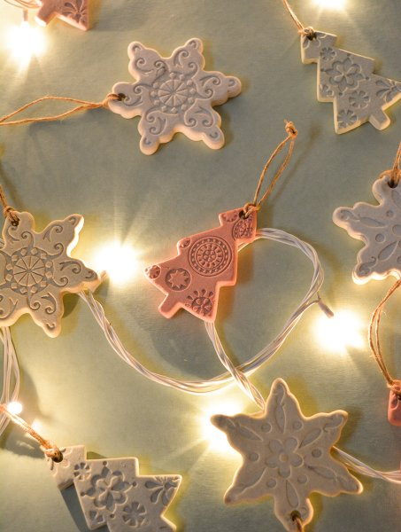 Classy Ceramic Christmas Tree Ornaments