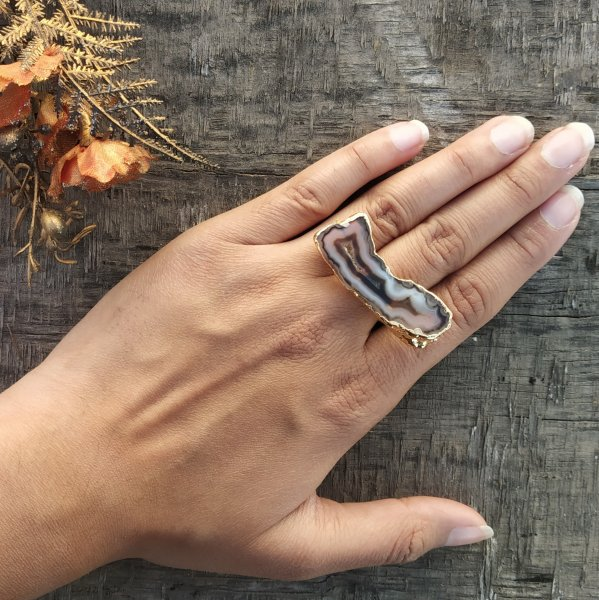 Cocktail Ring - Brown