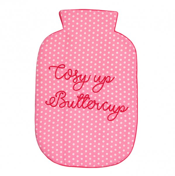 Cosy Up Buttercup (Pink) Hot Water Bag Cover