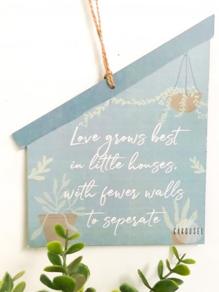 Wall Sign - Love Grows Best
