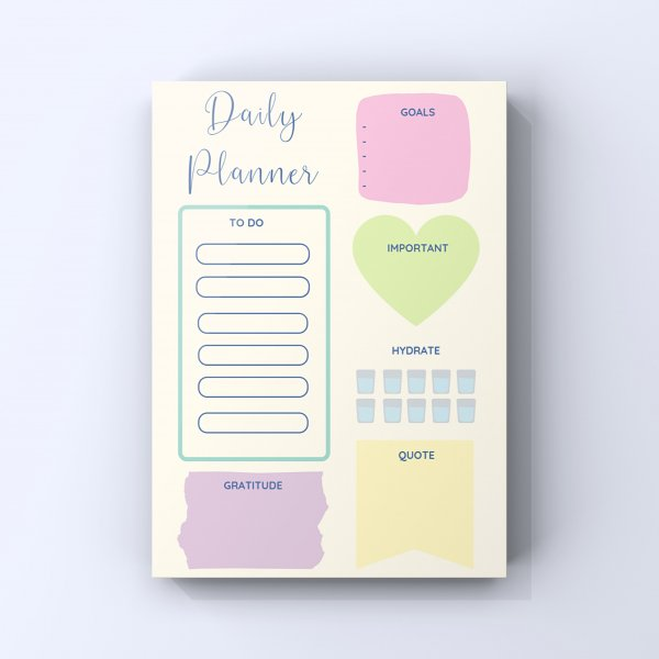 Daily Planner - Endless Summer