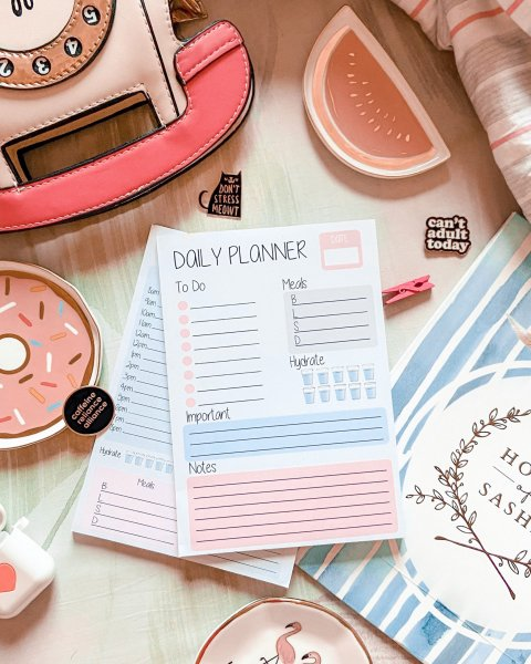 Daily Planner - Get It Done
