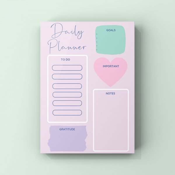 Daily Planner -Day Dreams