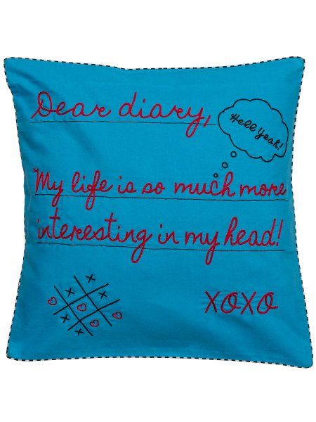 Dear Diary Cushion Cover
