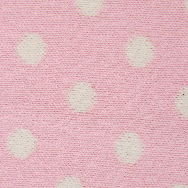 Dottie - Pink & Natural Cotton Knitted New Born