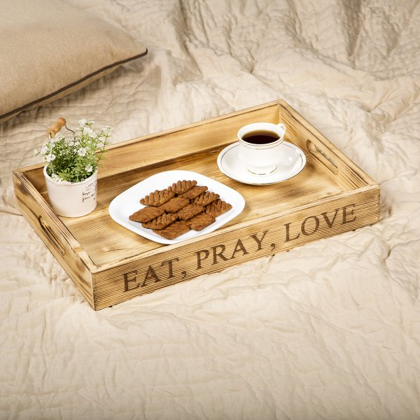 Eat Love Pray Serving Tray