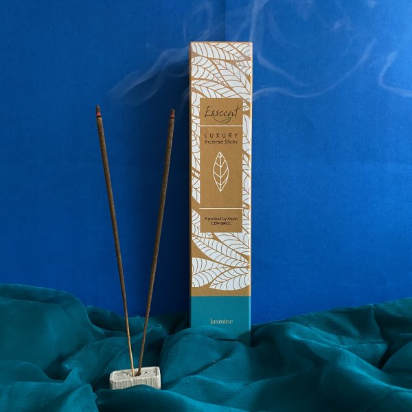 Jasmine Premium Flower-Based Incense Sticks