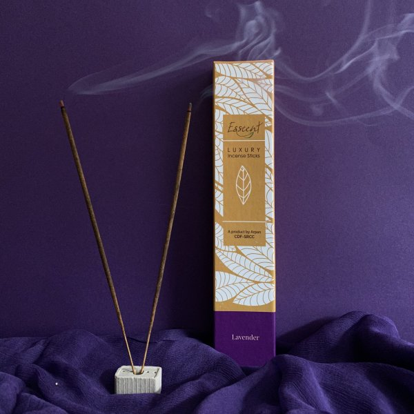 Lavender Premium Flower-Based Incense Sticks