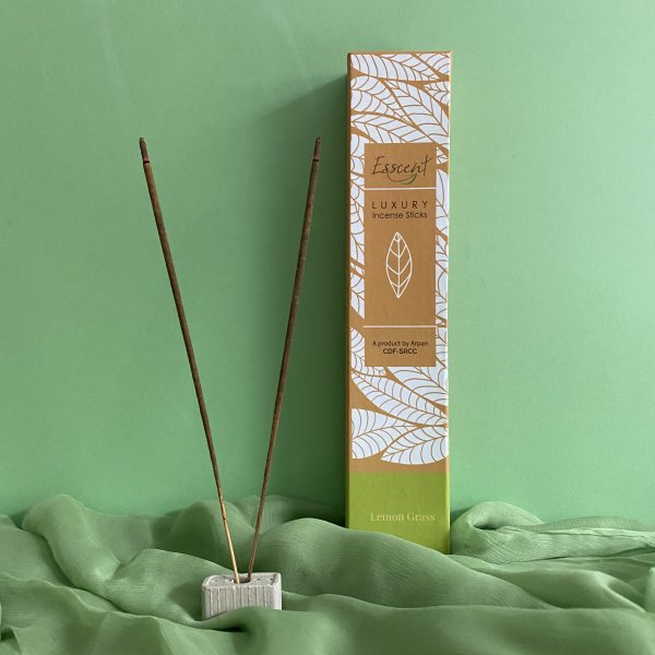 Lemongrass Premium Flower-Based Incense Sticks