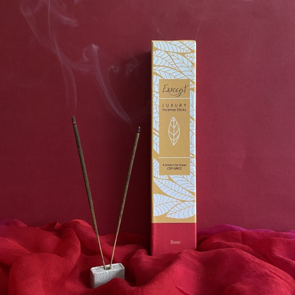 Rose Premium Flower-Based Incense Sticks