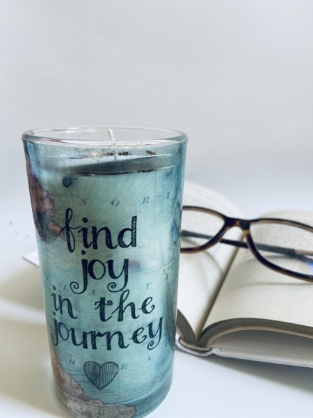 Find Joy In The Journey Candle
