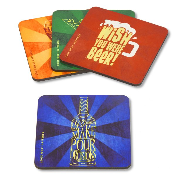 Fun Party Coasters