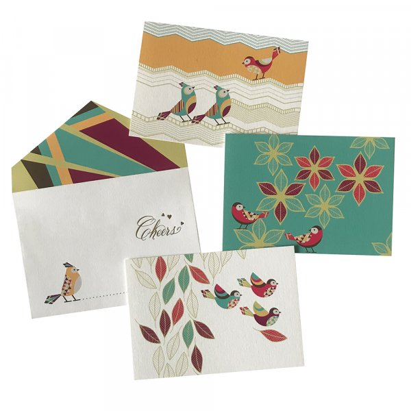 Falling Leaves Cards