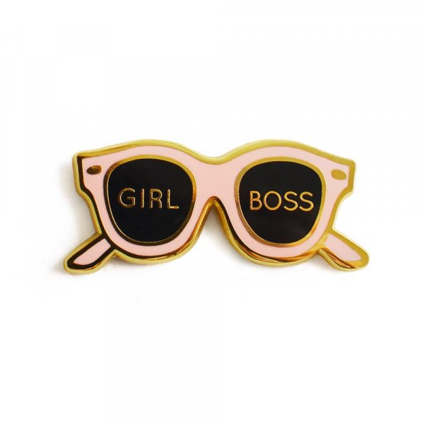 Girl Boss Pin
