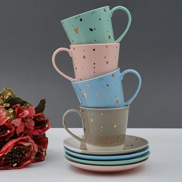 The Spotless Porcelain Cup & Saucer