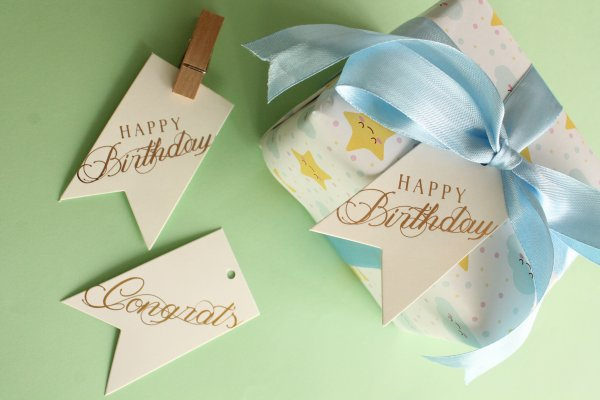 Birthday & Congrats Tags
