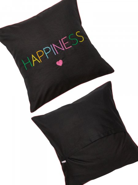 Happiness Cushion Cover