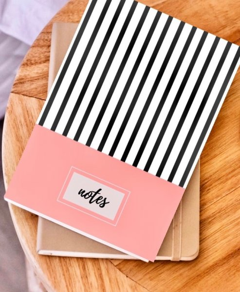 Coral Blush Notebook