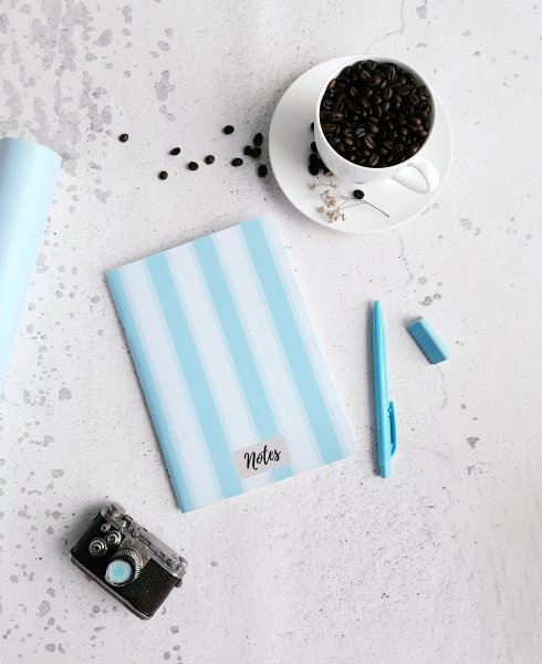 Hues Of Blue Notebook