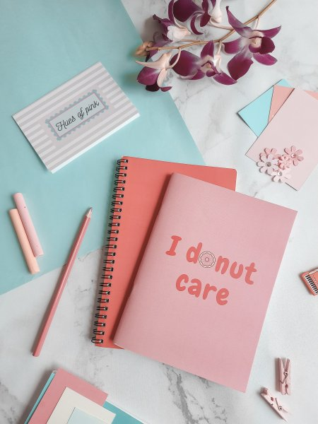 I Donut Care Notebook