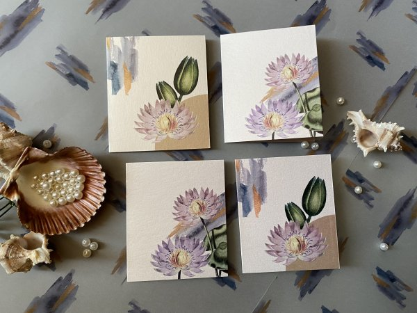 Lavender Charm Greeting Cards