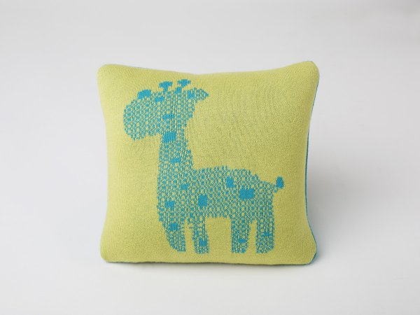 Kids Cushion Cover in Bondi Blue & Green Colour