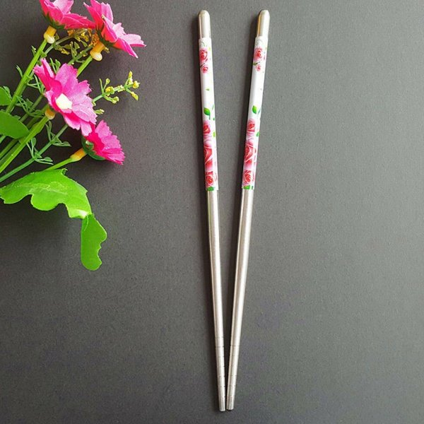 Floral Chopsticks - Reusable Eco-friendly