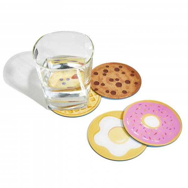Breakfast Coasters