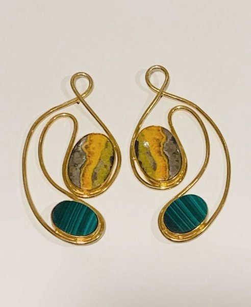 Lopped and Nestled Earrings