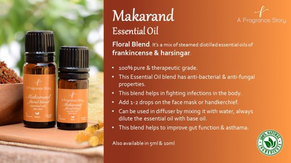 Makaranda Essential Oil