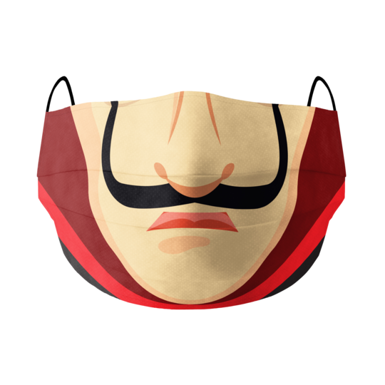 Money Heist Cotton Facemask | Red