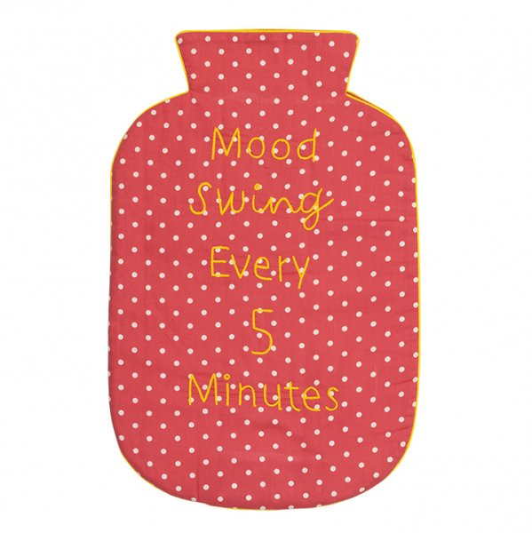 Mood Swing (Red) Hot Water Bag Cover