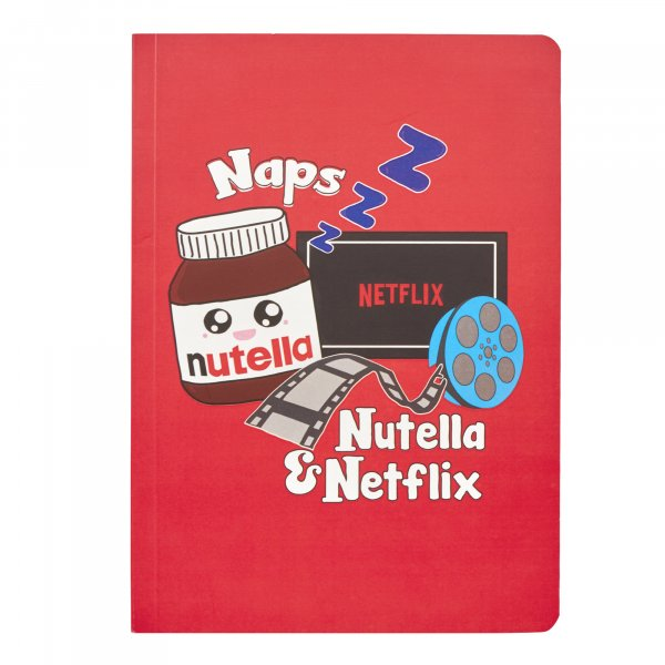 Naps Nutella Netflix Journal