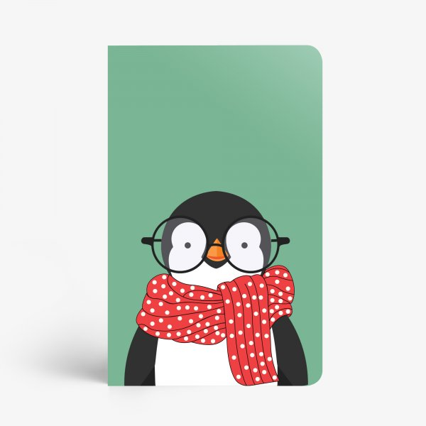 Nerdy Penguin Notebook